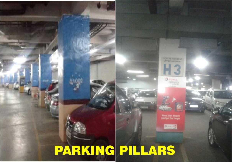 PARKING PILLARS